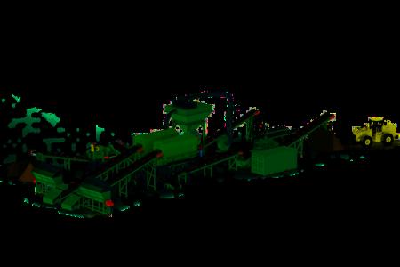 Insinööritoimisto Mecatroplan suunnitteli Ferroplantille tämän jätteenkäsittelylaitoksen