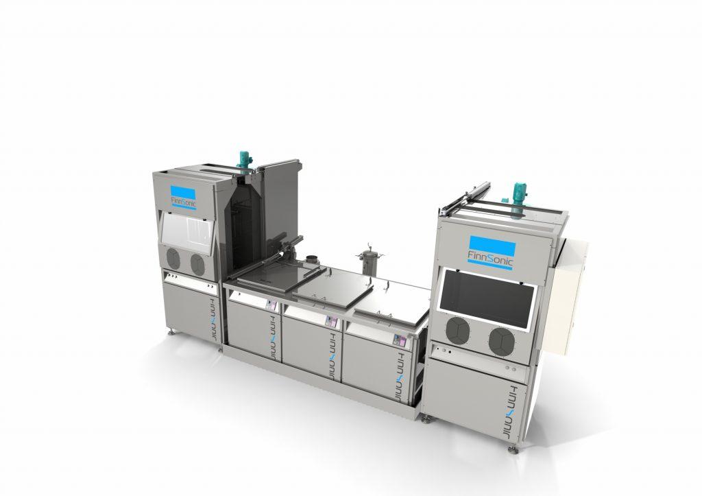 Laite- ja konesuunnittelun taidonnäytteenä ultraäänipesulaitteisto