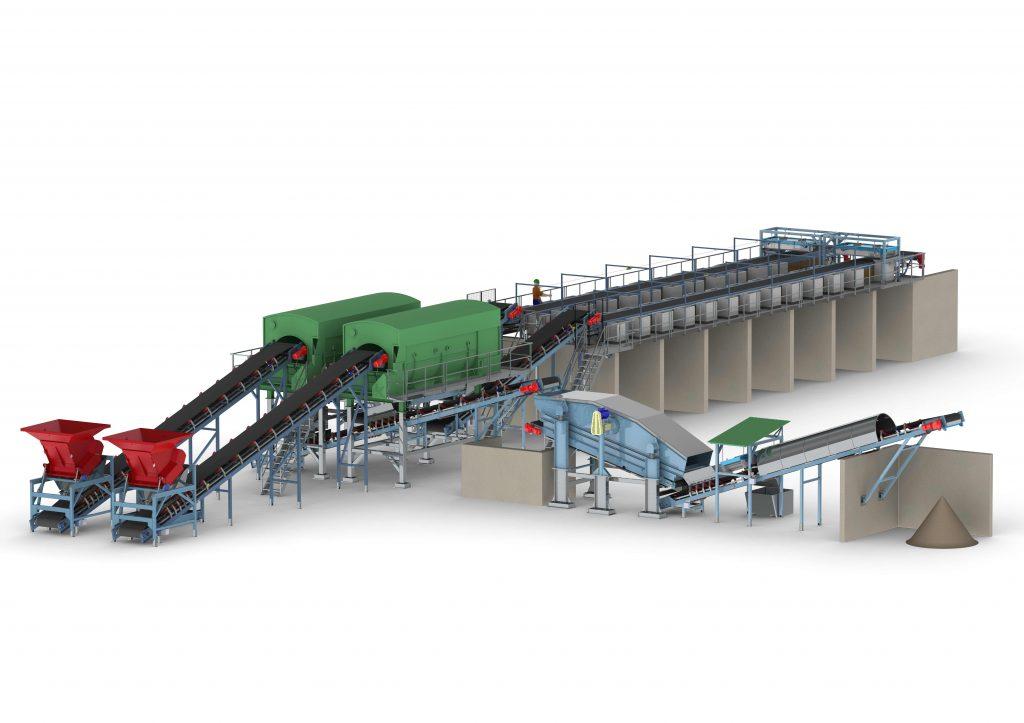 Jätteenkäsittelylaitos Ferroplan Oy:lle on malliesimerkki mittavista suunnitteluprojekteistamme